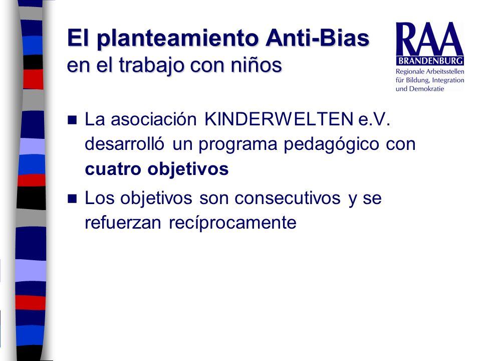 El planteamiento Anti-Bias en el trabajo con niños