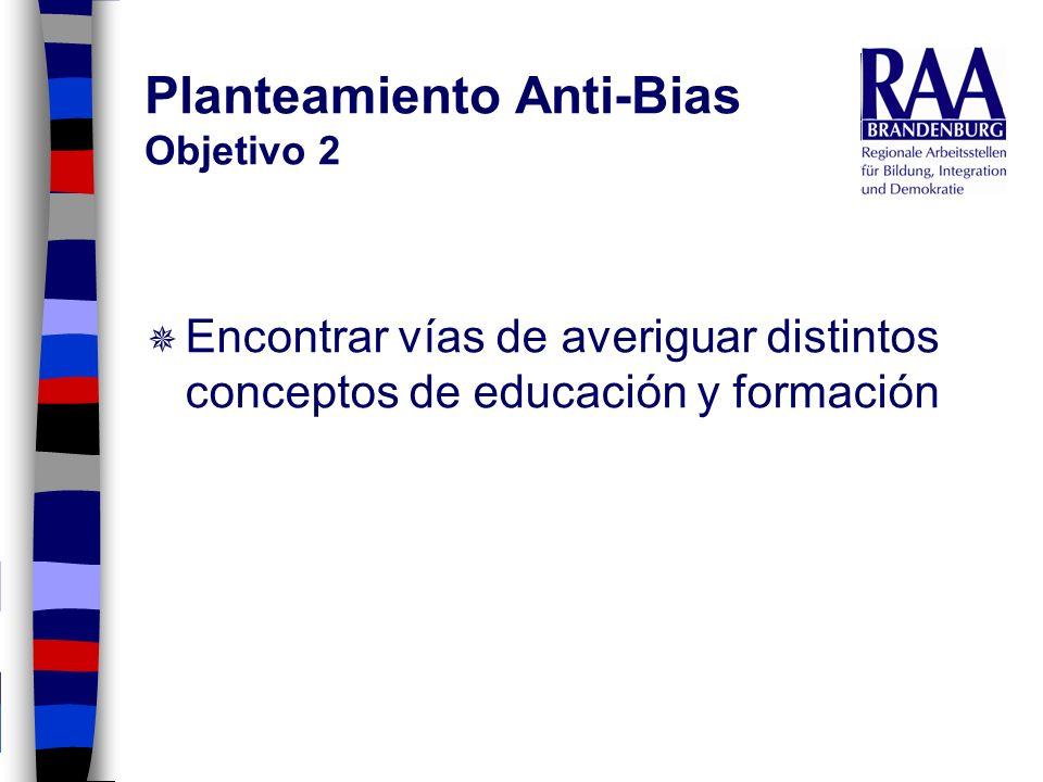 Planteamiento Anti-Bias Objetivo 2