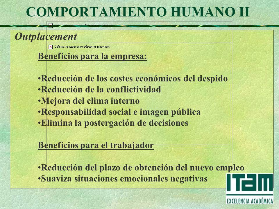 COMPORTAMIENTO HUMANO II