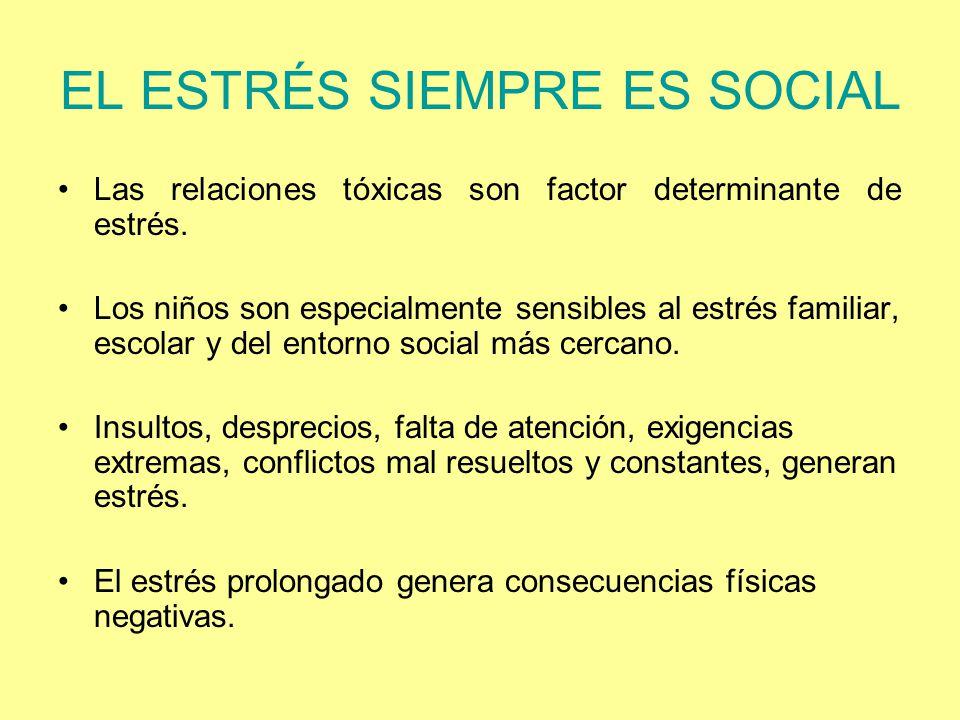 EL ESTRÉS SIEMPRE ES SOCIAL