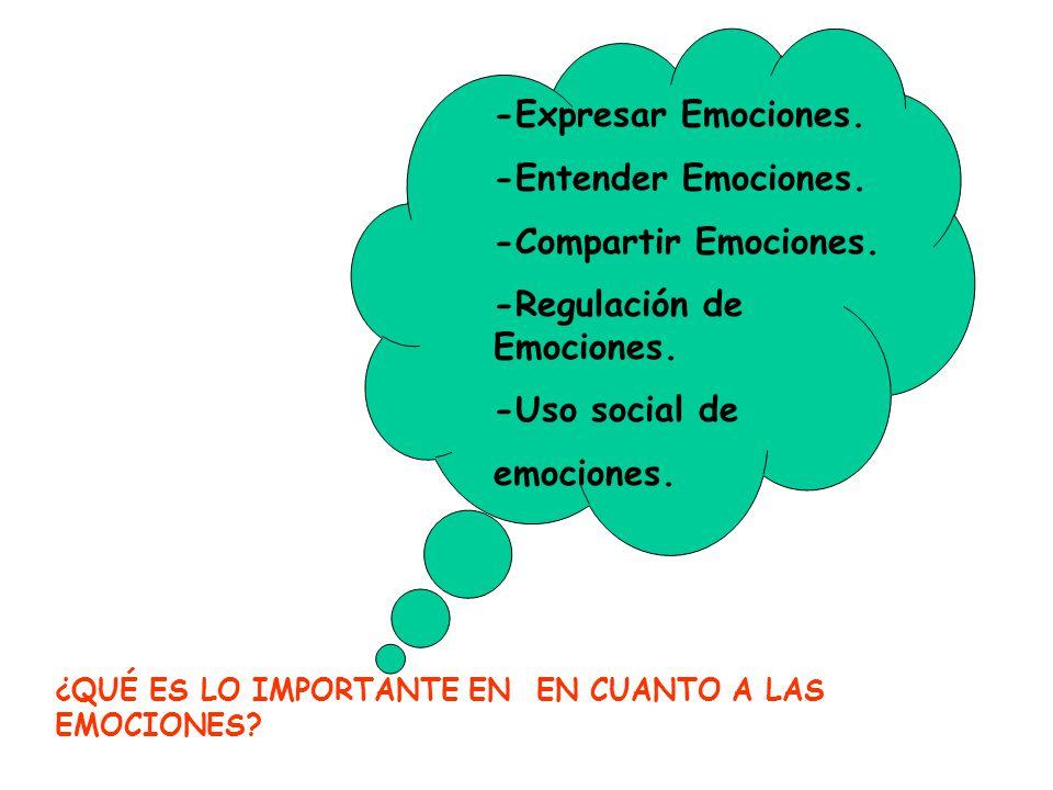 -Regulación de Emociones.