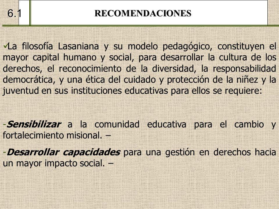 RECOMENDACIONES6.1.
