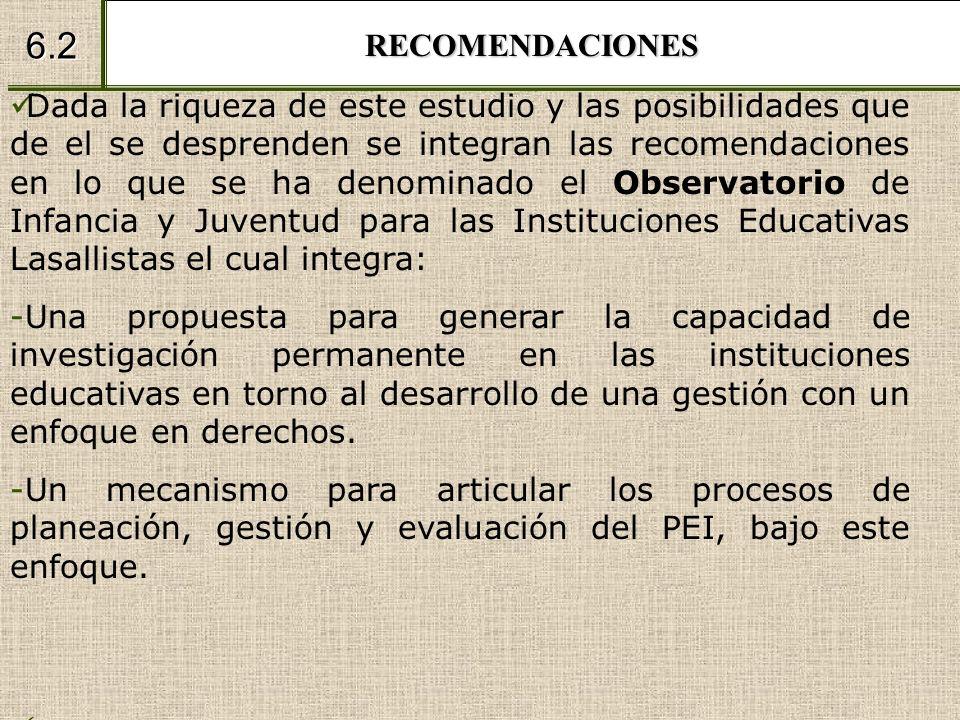 RECOMENDACIONES 6.2.