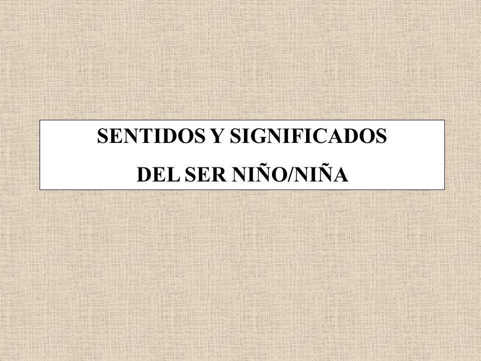 SENTIDOS Y SIGNIFICADOS