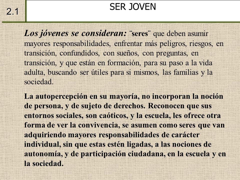 SER JOVEN 2.1.