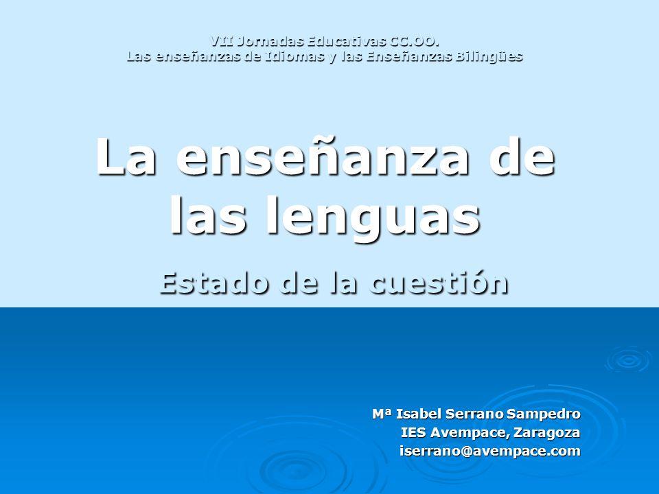 VII Jornadas Educativas CC. OO