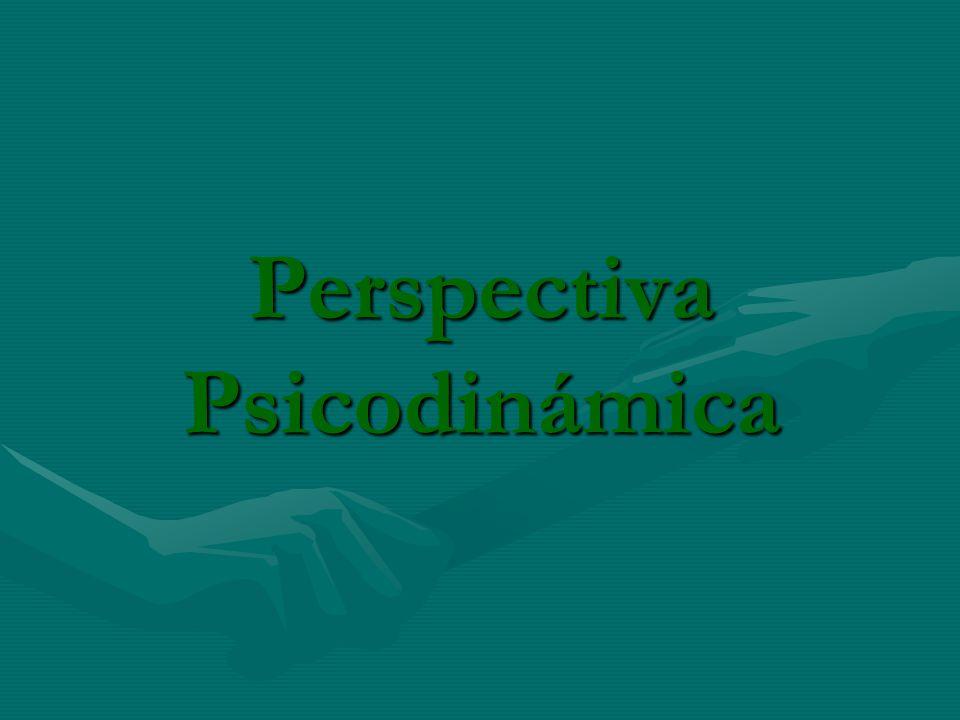 Perspectiva Psicodinámica