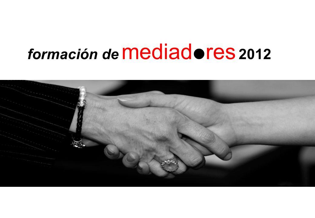 formación de mediadres 2012
