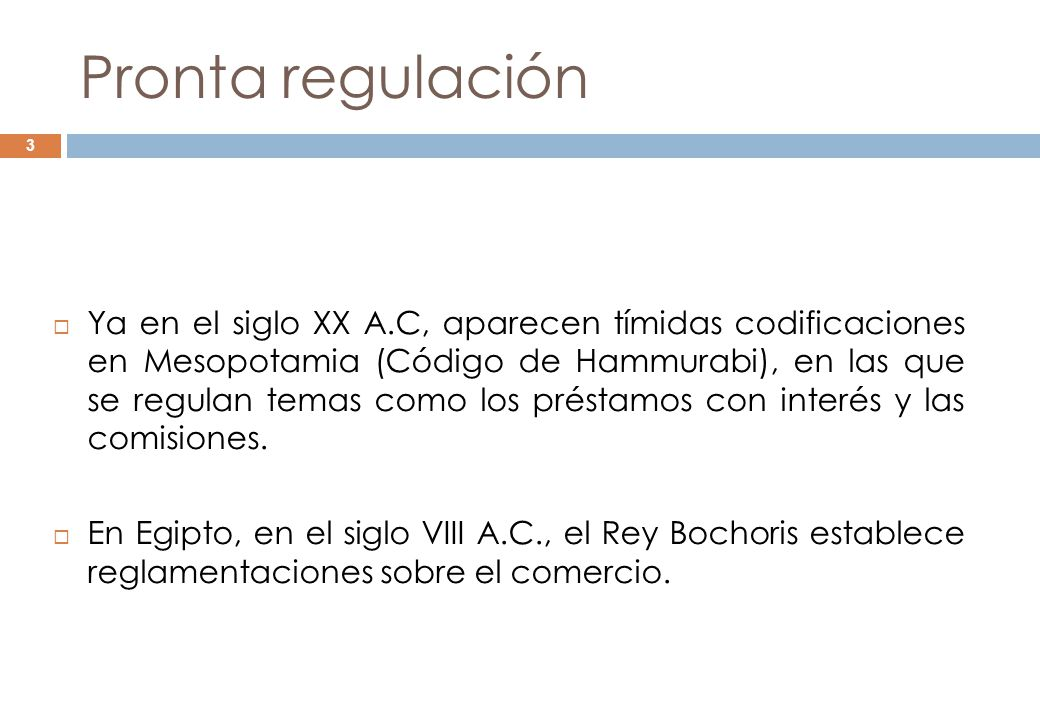 Pronta regulación