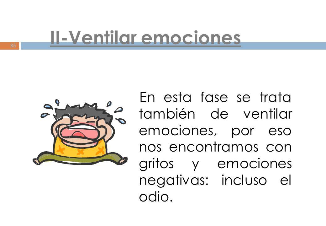 II-Ventilar emociones