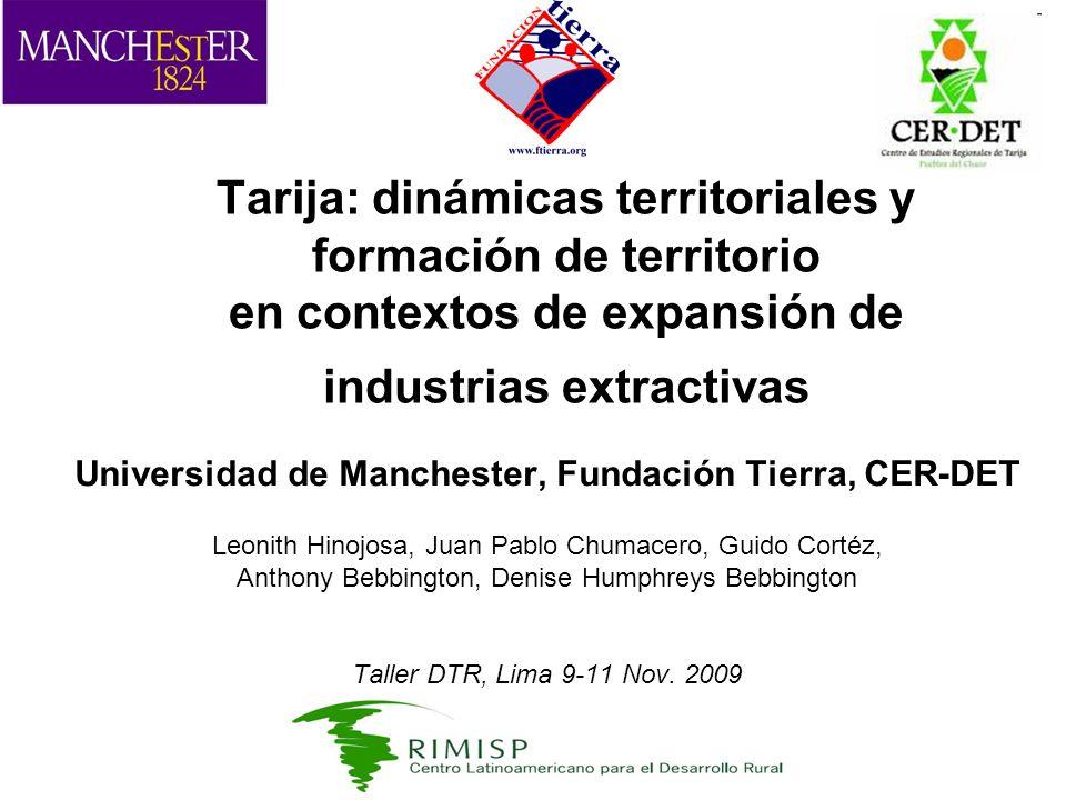 Universidad de Manchester, Fundación Tierra, CER-DET