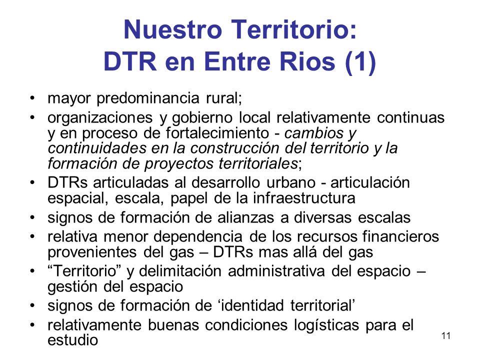 Nuestro Territorio: DTR en Entre Rios (1)