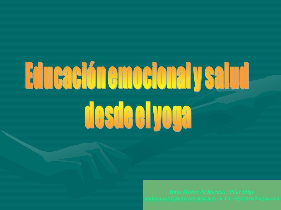 Educación emocional y salud desde el yoga