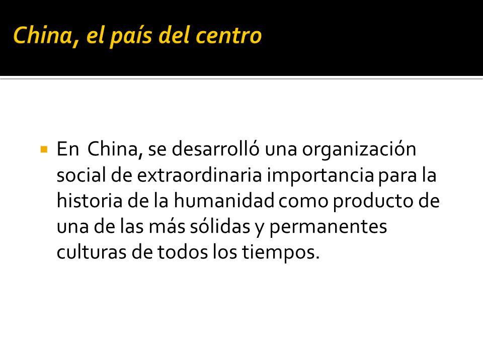 China, el país del centro