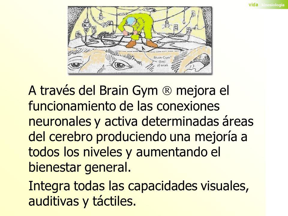 Integra todas las capacidades visuales, auditivas y táctiles.