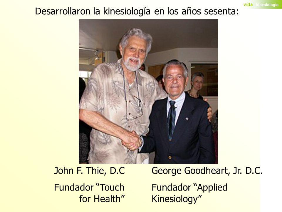 Desarrollaron la kinesiología en los años sesenta: