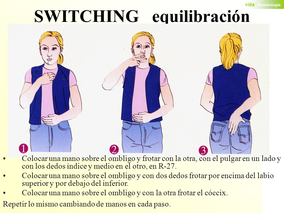 SWITCHING equilibración