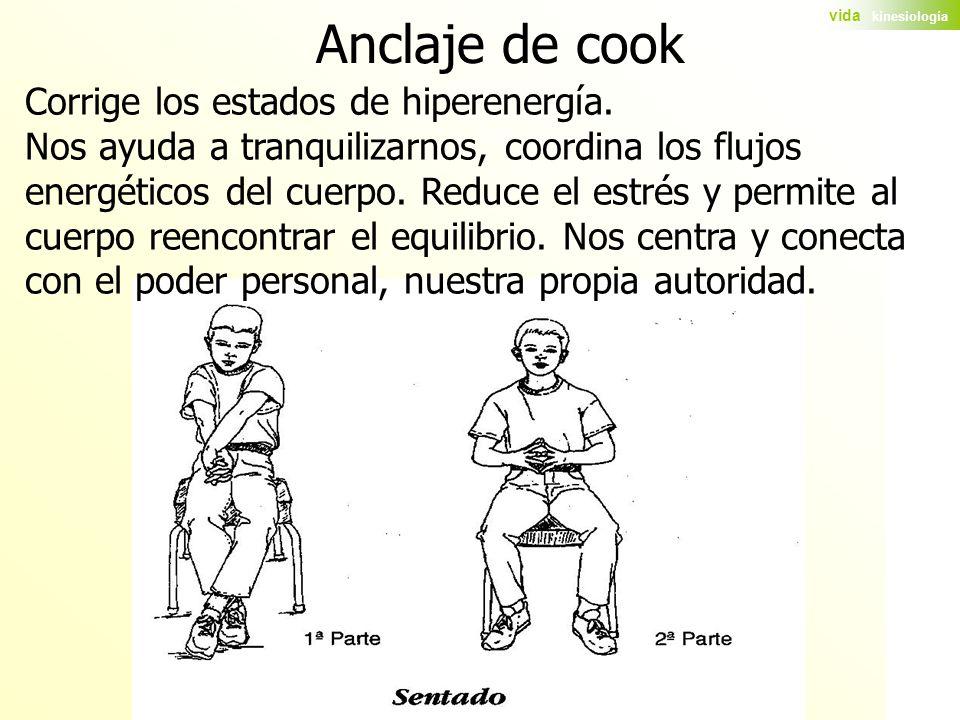 Anclaje de cook Corrige los estados de hiperenergía.