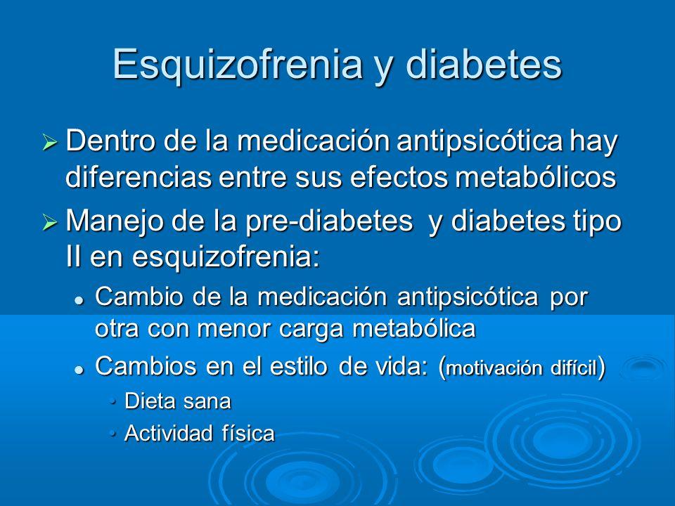 Esquizofrenia y diabetes