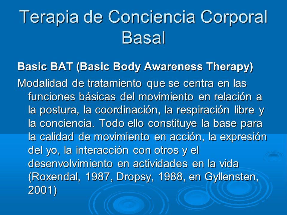 Terapia de Conciencia Corporal Basal