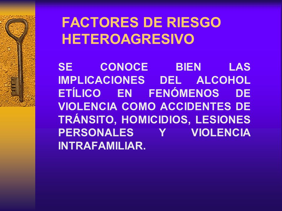 FACTORES DE RIESGO HETEROAGRESIVO