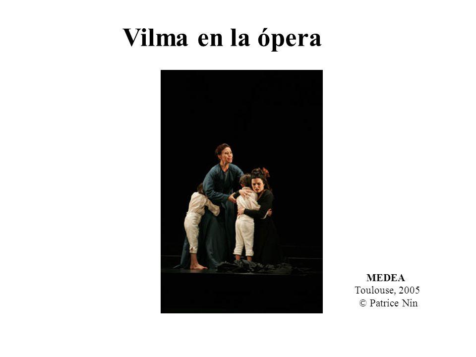 Vilma en la ópera MEDEA Toulouse, 2005 © Patrice Nin