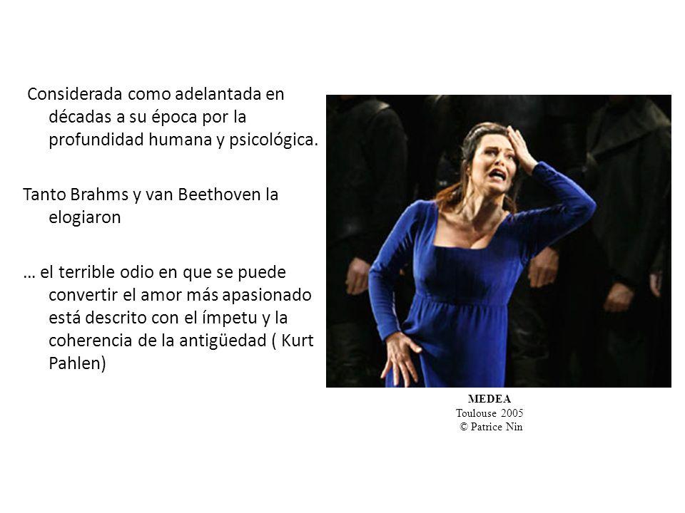 Tanto Brahms y van Beethoven la elogiaron