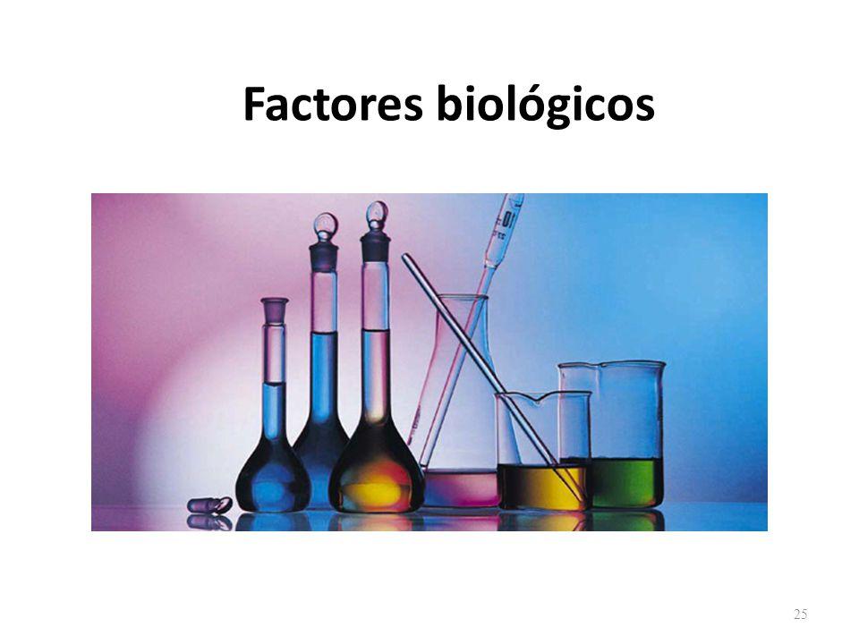 Factores biológicos