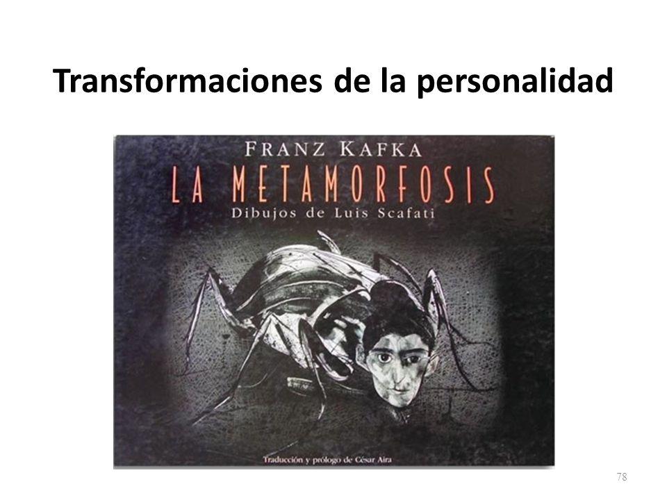 Transformaciones de la personalidad