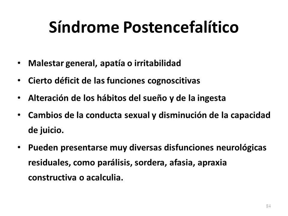 Síndrome Postencefalítico