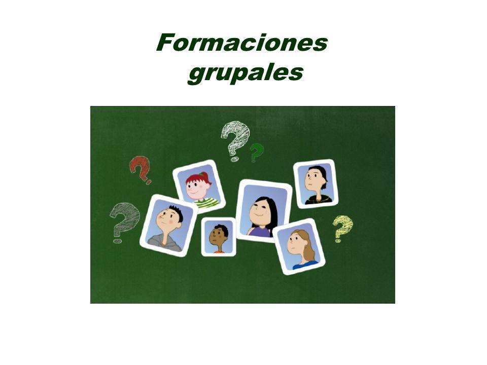 Formaciones grupales