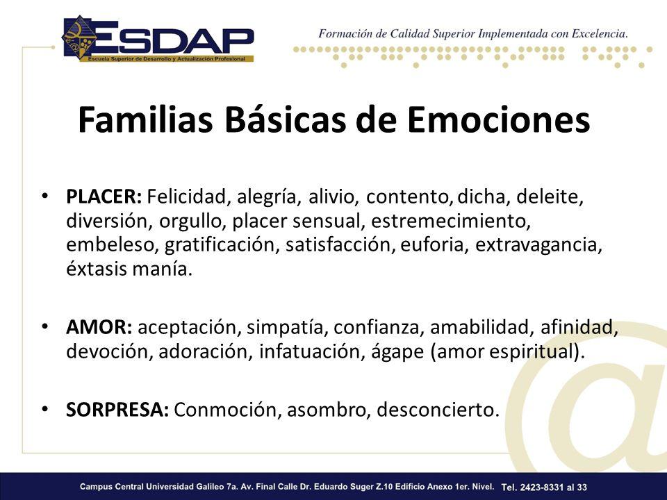 Familias Básicas de Emociones