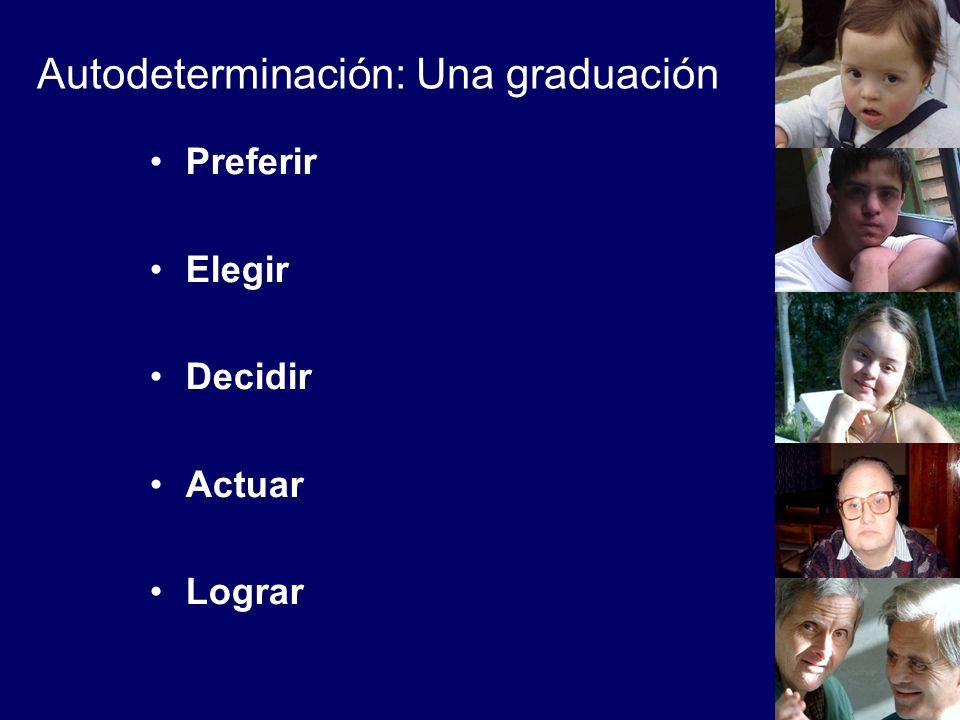 Autodeterminación: Una graduación