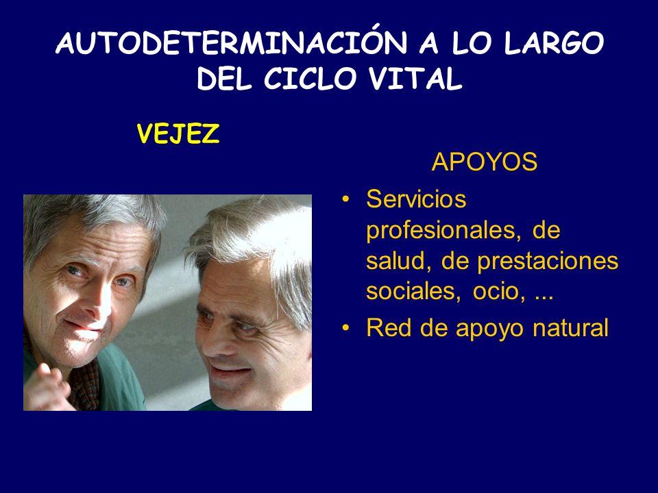 AUTODETERMINACIÓN A LO LARGO DEL CICLO VITAL
