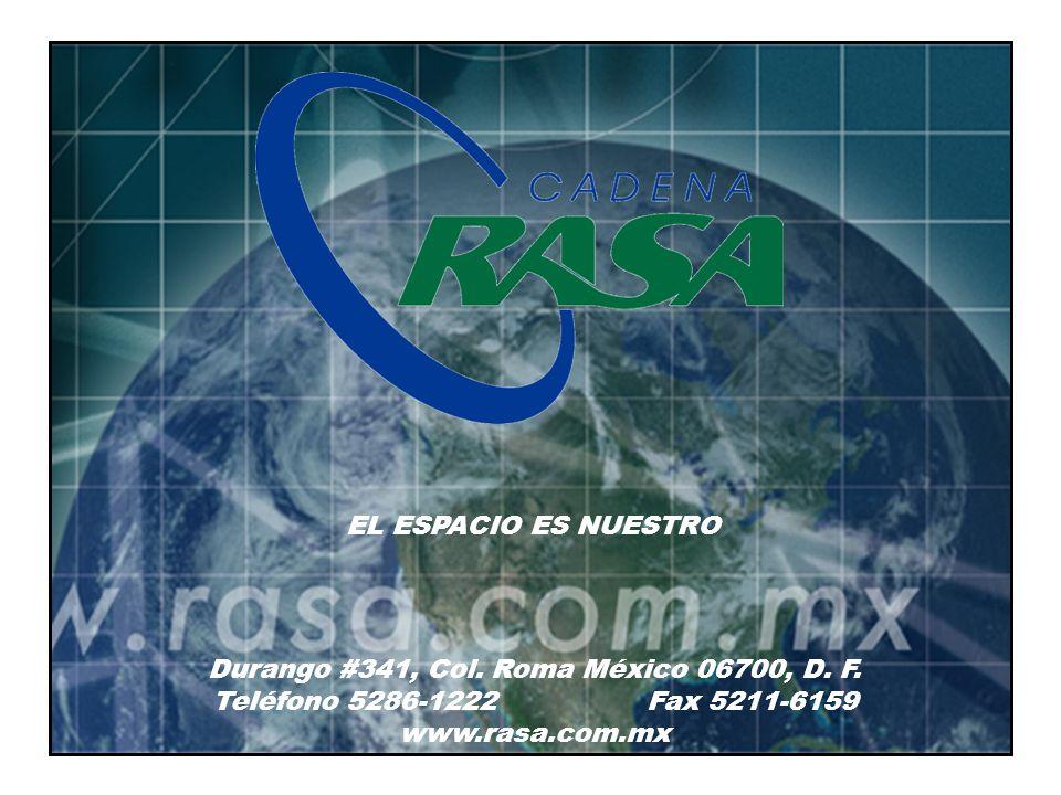 Durango #341, Col. Roma México 06700, D. F.