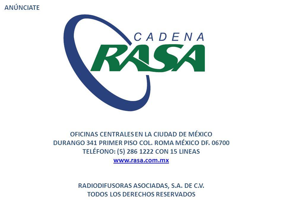 OFICINAS CENTRALES EN LA CIUDAD DE MÉXICO