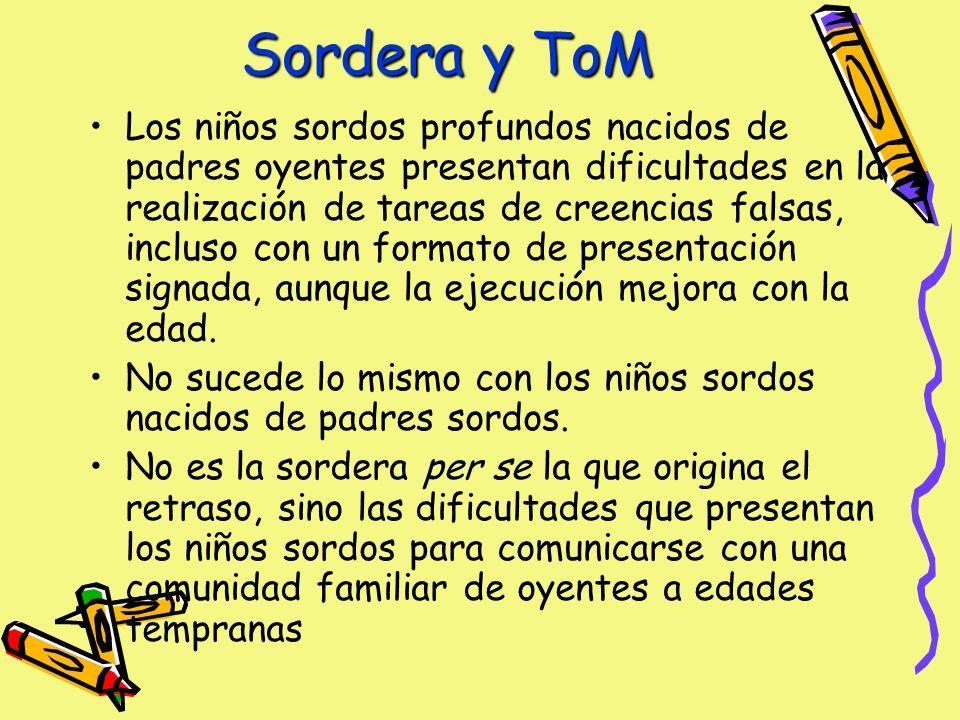 Sordera y ToM