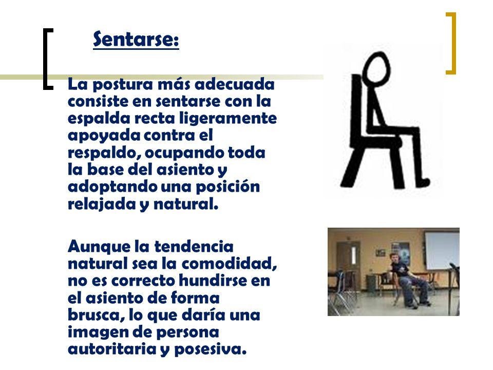 Sentarse: