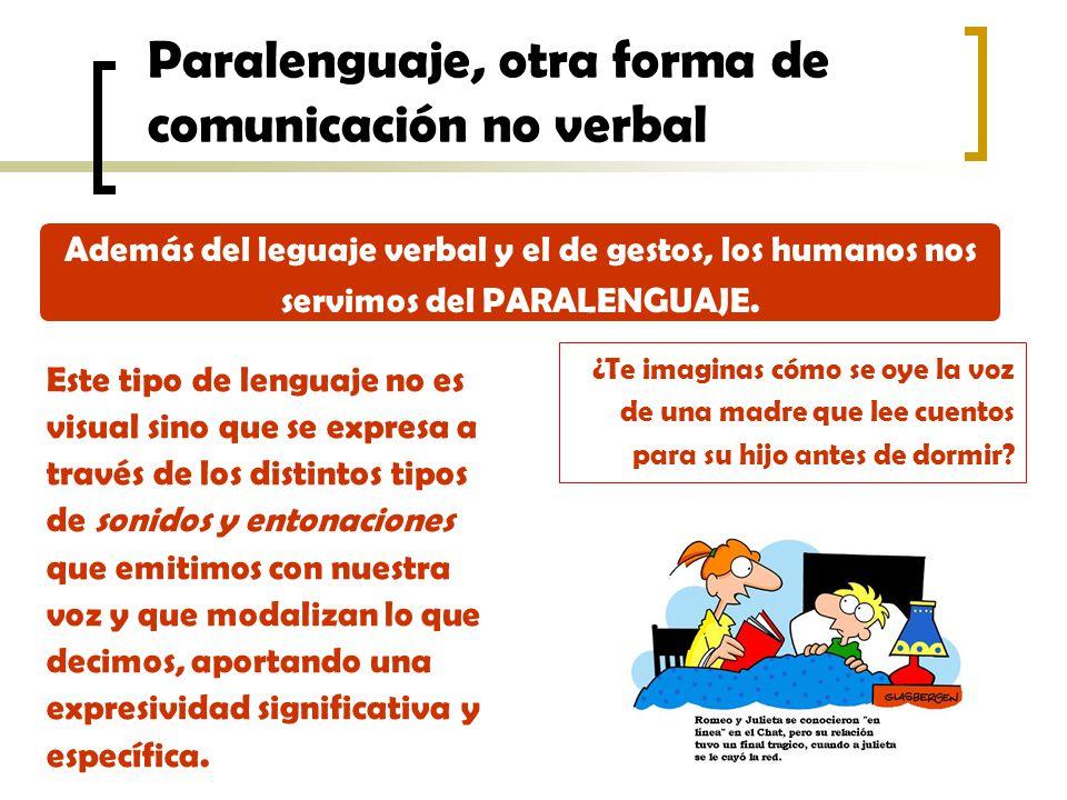 Paralenguaje, otra forma de comunicación no verbal