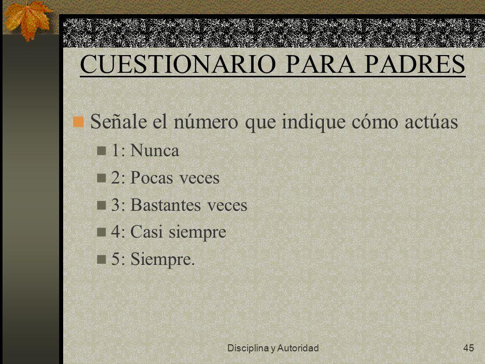 CUESTIONARIO PARA PADRES
