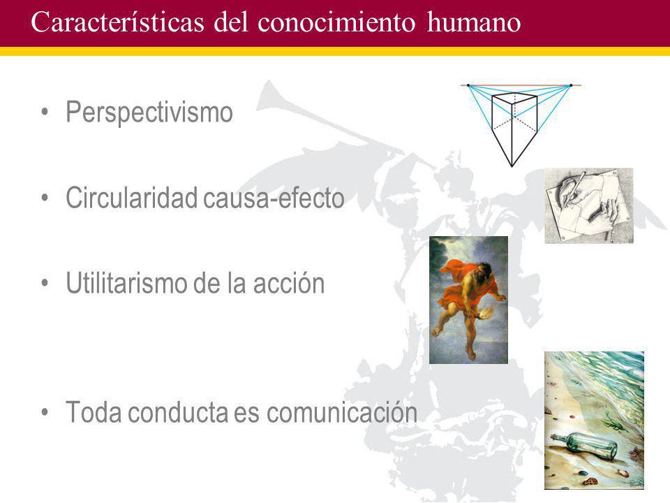 Características del conocimiento humano