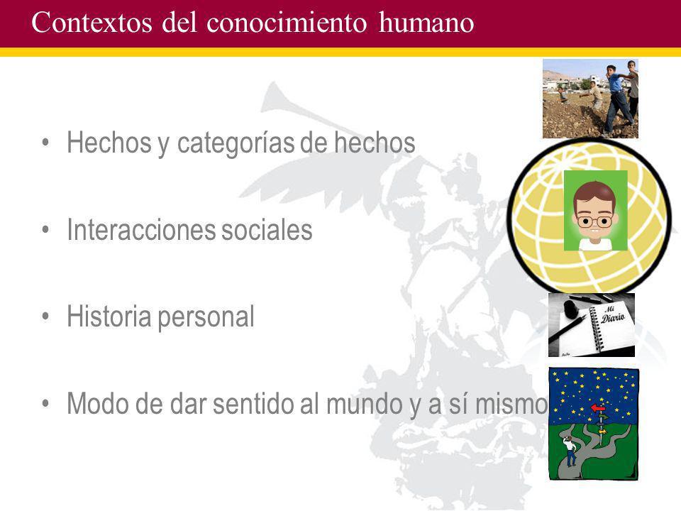 Contextos del conocimiento humano