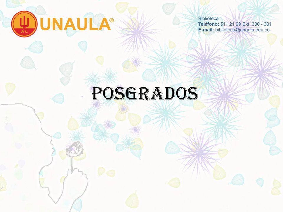 POSGRADOS