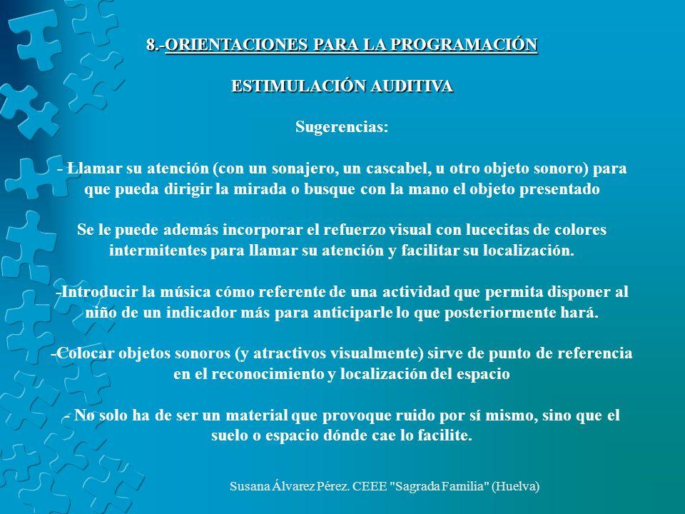 8.-ORIENTACIONES PARA LA PROGRAMACIÓN ESTIMULACIÓN AUDITIVA