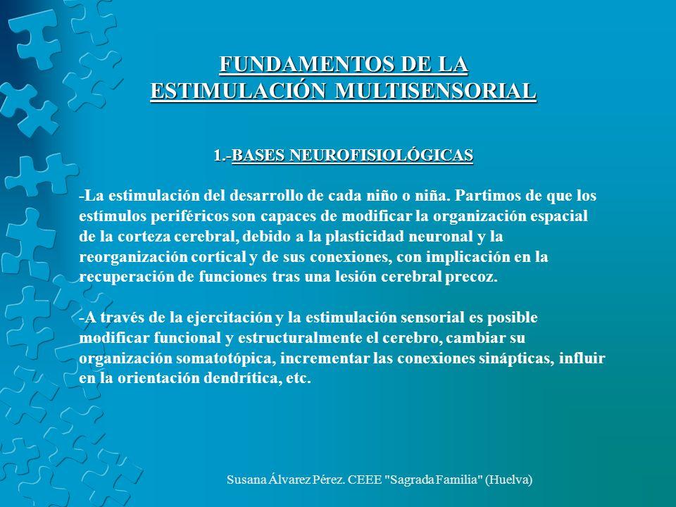 ESTIMULACIÓN MULTISENSORIAL 1.-BASES NEUROFISIOLÓGICAS