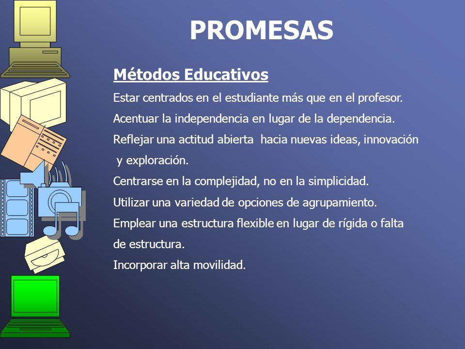 PROMESAS Métodos Educativos