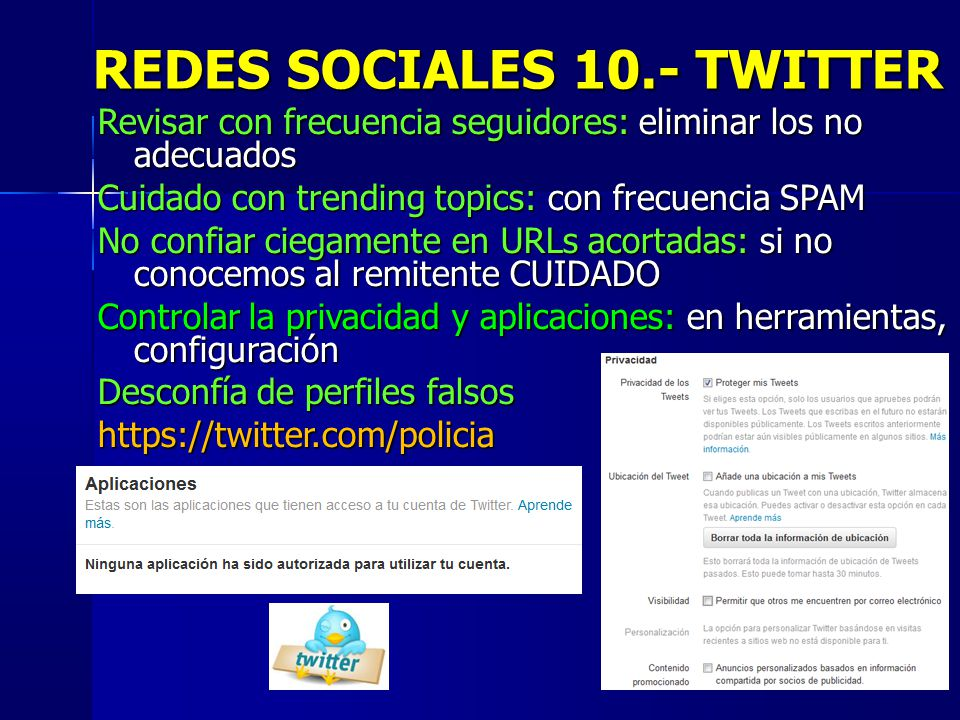 REDES SOCIALES 10.- TWITTER