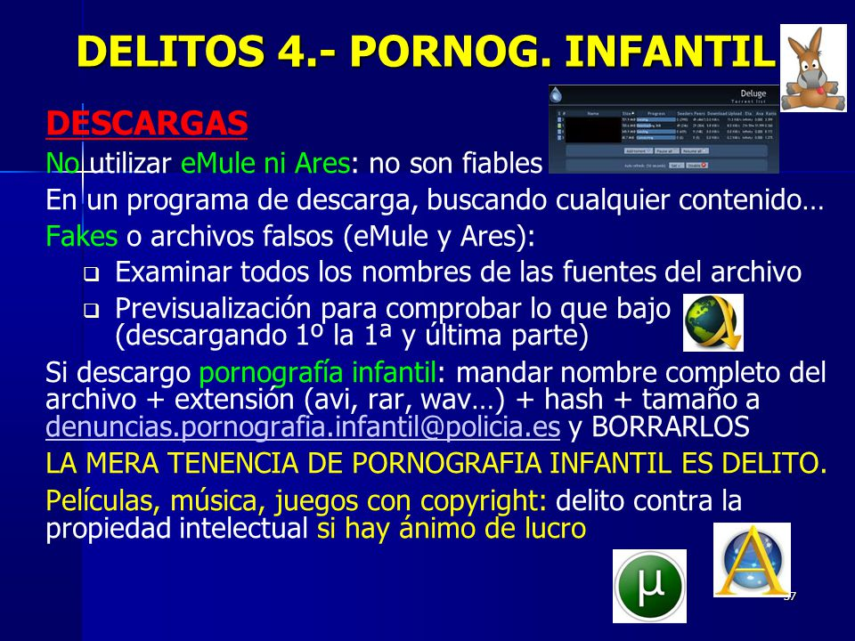 DELITOS 4.- PORNOG. INFANTIL