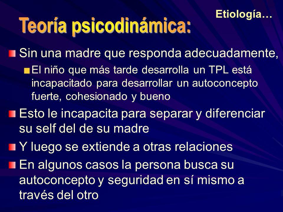Teoría psicodinámica: