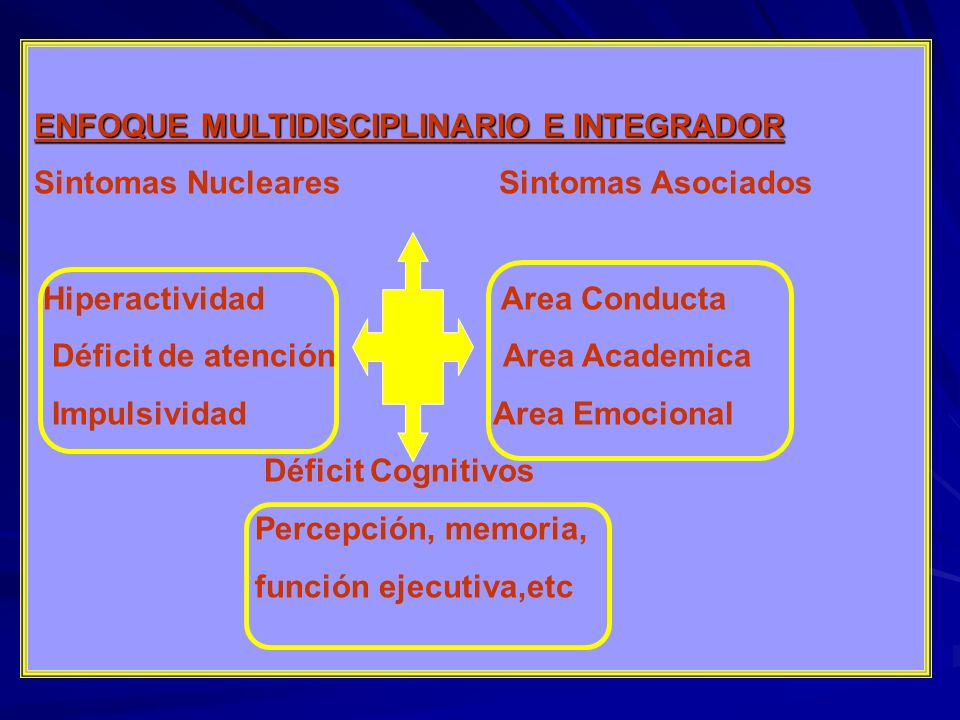 ENFOQUE MULTIDISCIPLINARIO E INTEGRADOR